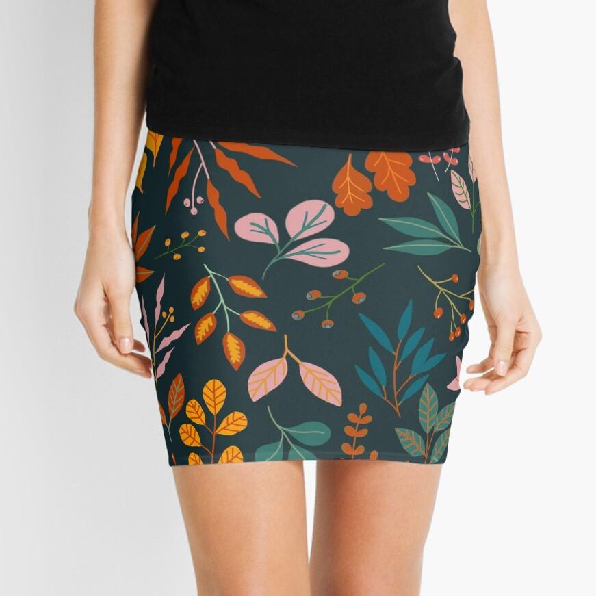 Autumn gems Mini Skirt