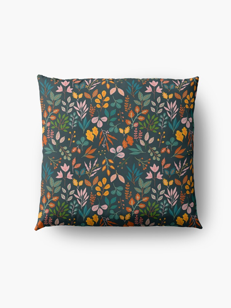 Alternate view of Autumn gems Floor Pillow