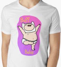 Je suis un bébé Buff T-shirt col V