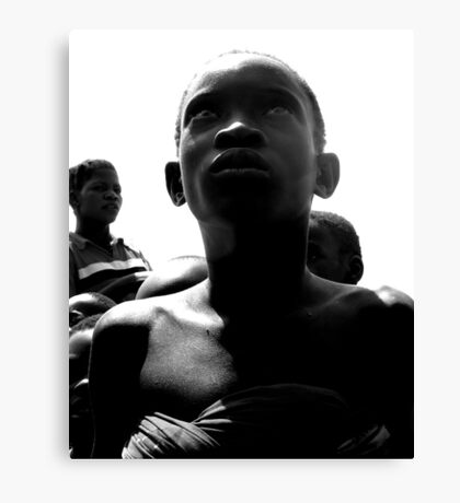 A Haunting Stare Canvas Print