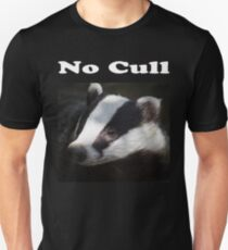 No Badger Cull T-Shirt