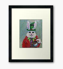 Hatter Rabbit Framed Print
