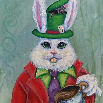 Hatter Rabbit by Blossombrooks