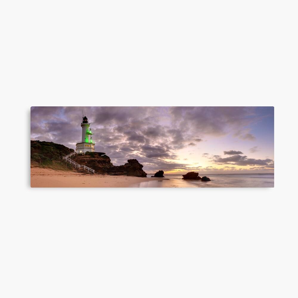 Point Lonsdale Lighthouse Pre-Dawn, Australia Metal Print