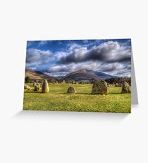 Castlerigg Stone Circle. Greeting Card
