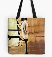 """""""Planar Distortion"""" Tote Bag"""