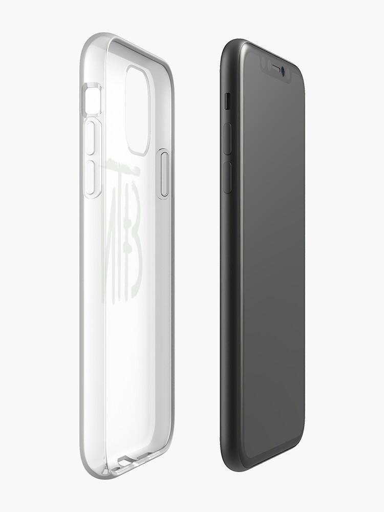 Coque iPhone «logo zenitco vert», par ImPann
