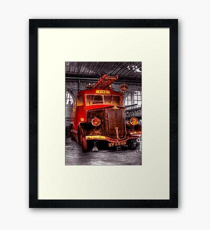 The beast Framed Print