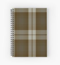 00181 Snaefell District or Baillie Dress Clan/FamilyTartan  Spiral Notebook