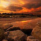 Sunset Esperance by JuliaKHarwood