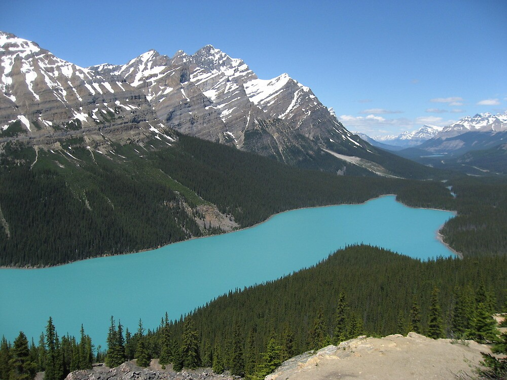 Peyto Lake, Icefields Parkway, Banff National Park by hicklinbn