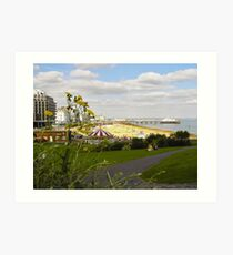 Eastbourne Seafront Art Print