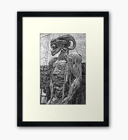 Creature Framed Print