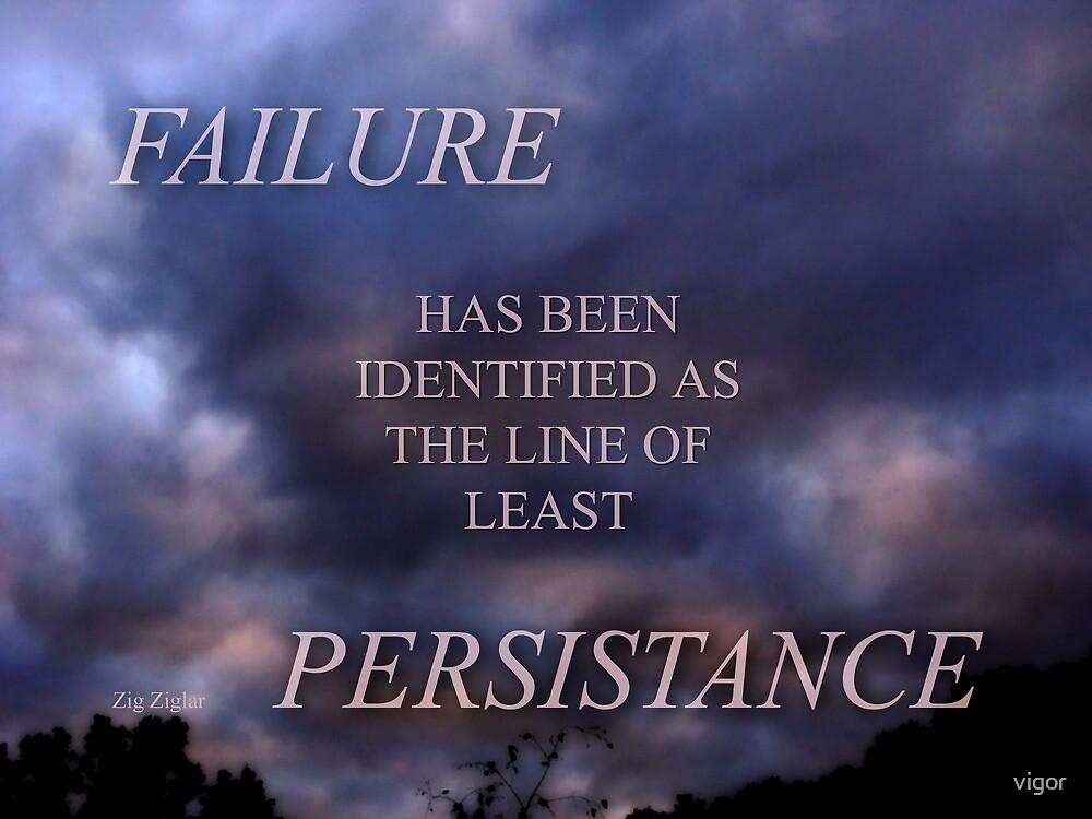FAILURE (6) by vigor