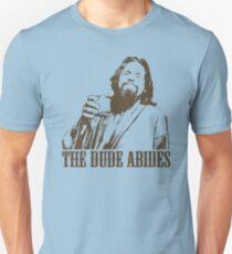 The Big Lebowski The Dude Abides T-Shirt Unisex T-Shirt