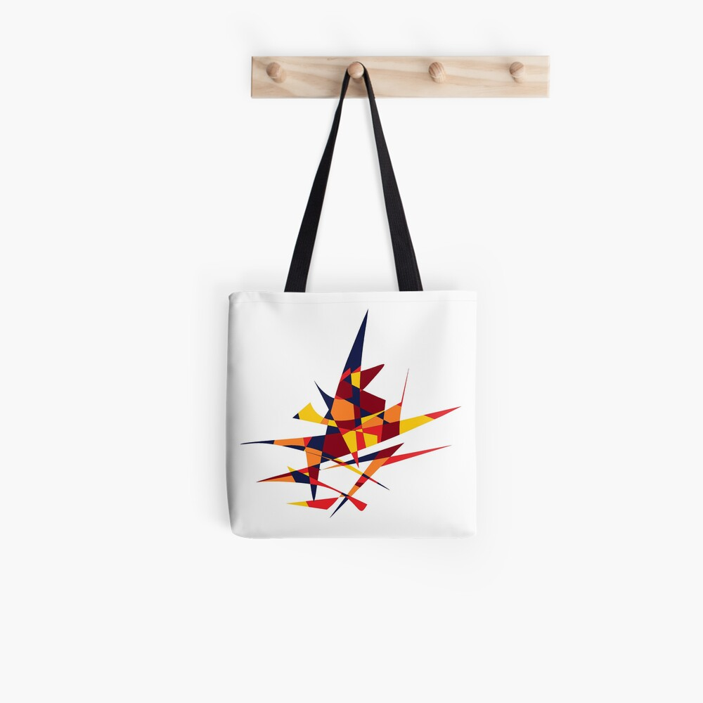 Wizard's Hat, Abstract (Designed by Just Stories) Tote Bag