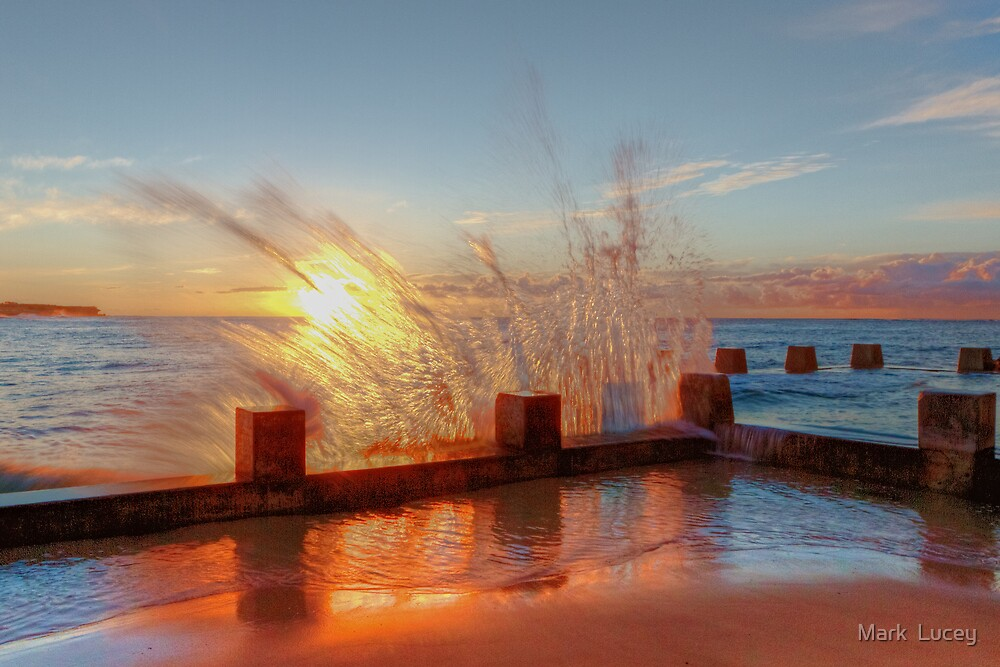 Smashed - Coggee Baths by Mark  Lucey