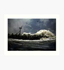 November Storm Art Print