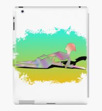 Abstract Female On The Beach iPad Case/Skin