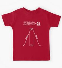 Zero Gravity Diagram Kids Tee