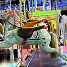 Childhood dreams are made of carousel  rides by JuliaWright