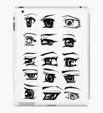 Manga Eyes iPad Case/Skin
