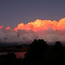 Oncoming Sunset Storm by DEB CAMERON