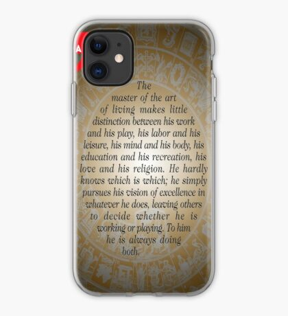 The Master of Art (Buddha's Quote) iPhone Case