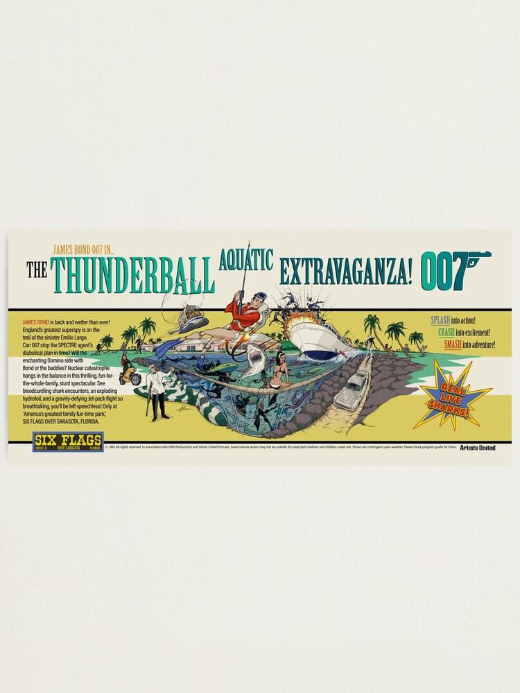 Alternate view of THE THUNDERBALL AQUATIC EXTRAVAGANZA Photographic Print