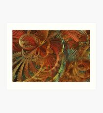 Deep in the Great Hall Art Print