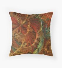 Deep in the Great Hall Throw Pillow