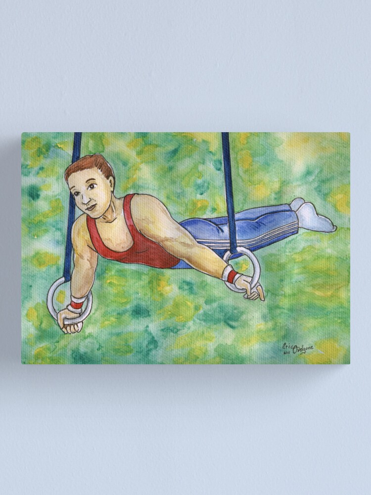 Alternate view of Gymnastic Rings Canvas Print