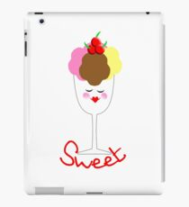 Cute Fun Ice Cream Sundae Sweet iPad Case/Skin