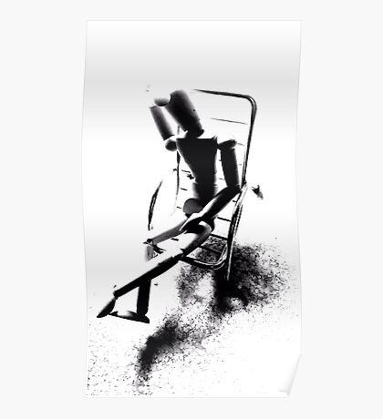 """""""Despair Chair (6)"""" Poster"""