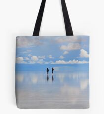 Salar de Uyuni, flooded, Bolivia Tote Bag