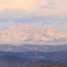 Meeker and Longs Peak Twin Peaks Panorama Color Image by Bo Insogna