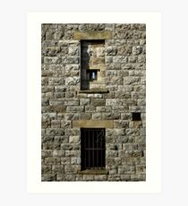 Windows of Cliffe Fort Art Print
