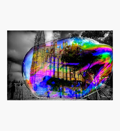 Basilica in a Bubble Photographic Print
