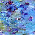 Lily Pond Abstract 1 by HeavenSpirit Creations