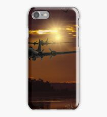 Looking out the broken window iPhone Case/Skin