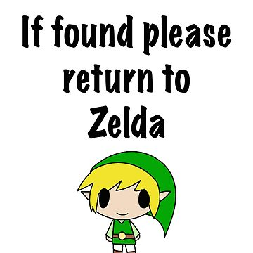 If Found, Please Return to Zelda by Elora0321
