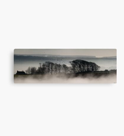 Trees above the Mist (Original Version) Canvas Print