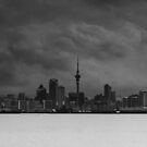 Storm over Auckland by Paul McSherry
