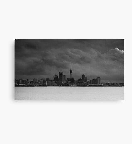 Storm over Auckland Canvas Print