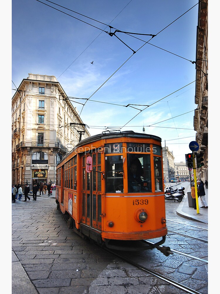 Tram in Milan by stephenknowles