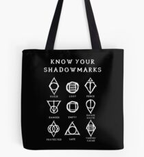Know Your Shadowmarks (Light) Tote Bag