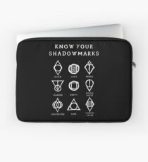 Know Your Shadowmarks (Light) Laptop Sleeve
