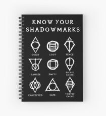 Know Your Shadowmarks (Light) Spiral Notebook