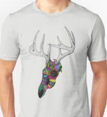 mayan deer skull dots T-Shirt