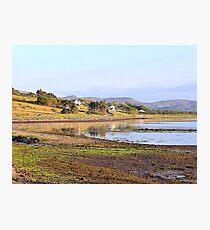 Autumnal Reflections On An Irish Lake Photographic Print